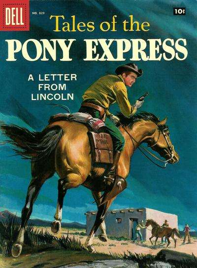 Tales of the Pony Express #1 comic books - cover scans photos Tales of the Pony Express #1 comic books - covers, picture gallery