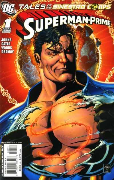 Tales of the Sinestro Corps: Superman-Prime #1 comic books - cover scans photos Tales of the Sinestro Corps: Superman-Prime #1 comic books - covers, picture gallery