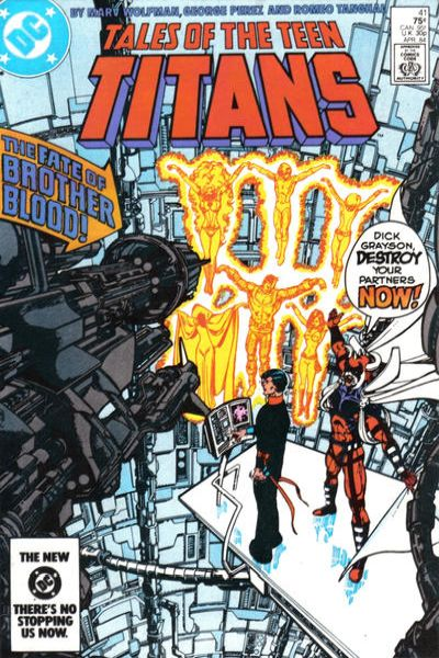 Tales of the Teen Titans #41 Comic Books - Covers, Scans, Photos  in Tales of the Teen Titans Comic Books - Covers, Scans, Gallery