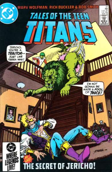 Tales of the Teen Titans #51 Comic Books - Covers, Scans, Photos  in Tales of the Teen Titans Comic Books - Covers, Scans, Gallery