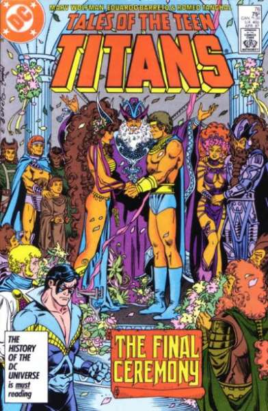 Tales of the Teen Titans #76 comic books for sale