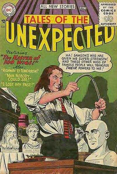 Tales of the Unexpected #3 Comic Books - Covers, Scans, Photos  in Tales of the Unexpected Comic Books - Covers, Scans, Gallery