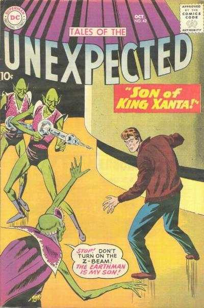 Tales of the Unexpected #42 Comic Books - Covers, Scans, Photos  in Tales of the Unexpected Comic Books - Covers, Scans, Gallery