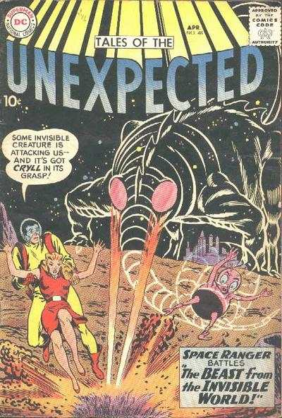 Tales of the Unexpected #48 Comic Books - Covers, Scans, Photos  in Tales of the Unexpected Comic Books - Covers, Scans, Gallery