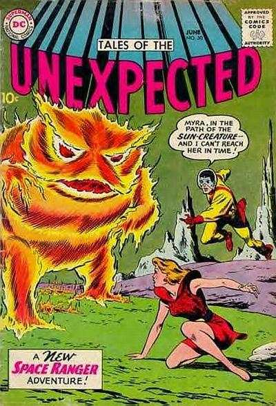 Tales of the Unexpected #50 comic books - cover scans photos Tales of the Unexpected #50 comic books - covers, picture gallery