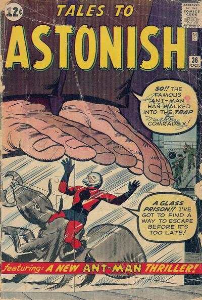 Tales to Astonish #36 Comic Books - Covers, Scans, Photos  in Tales to Astonish Comic Books - Covers, Scans, Gallery