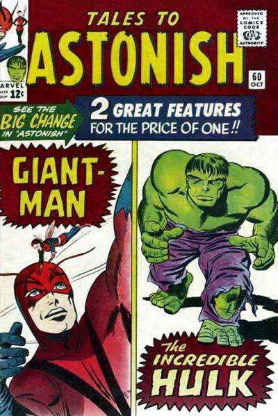 Tales to Astonish #60 comic books - cover scans photos Tales to Astonish #60 comic books - covers, picture gallery