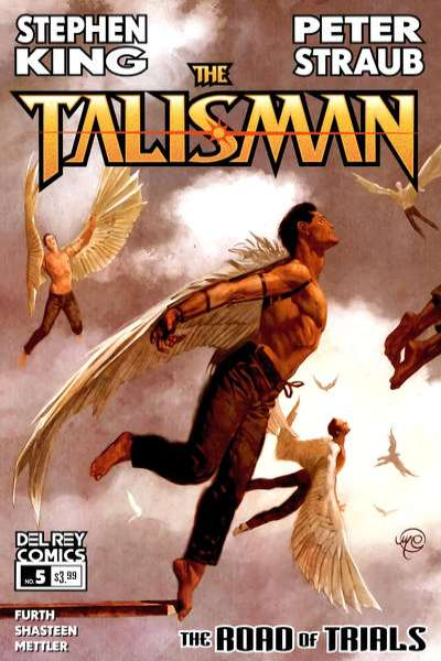 Talisman: The Road of Trials #5 comic books - cover scans photos Talisman: The Road of Trials #5 comic books - covers, picture gallery