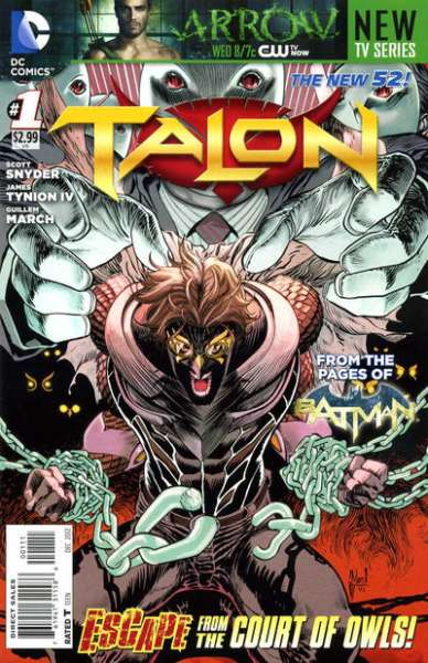 Talon comic books