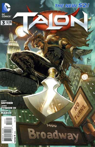 Talon #3 Comic Books - Covers, Scans, Photos  in Talon Comic Books - Covers, Scans, Gallery