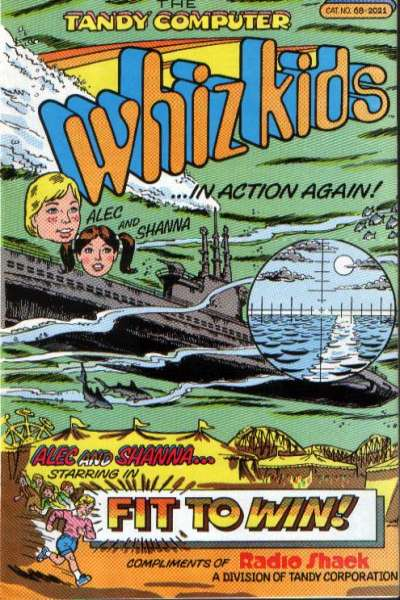 Tandy Computer Whiz Kids: Fit to Win comic books