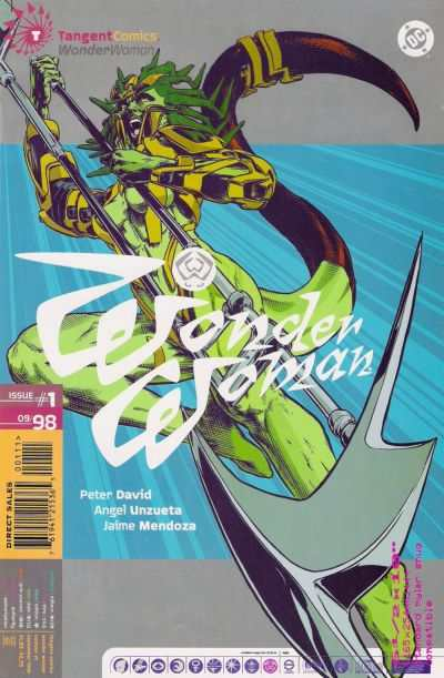 Tangent Comics #1 comic books - cover scans photos Tangent Comics #1 comic books - covers, picture gallery