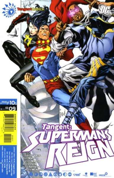 Tangent: Superman's Reign #10 Comic Books - Covers, Scans, Photos  in Tangent: Superman's Reign Comic Books - Covers, Scans, Gallery