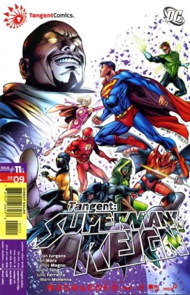 Tangent: Superman's Reign #11 Comic Books - Covers, Scans, Photos  in Tangent: Superman's Reign Comic Books - Covers, Scans, Gallery