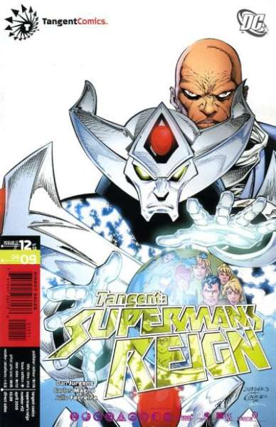 Tangent: Superman's Reign #12 Comic Books - Covers, Scans, Photos  in Tangent: Superman's Reign Comic Books - Covers, Scans, Gallery