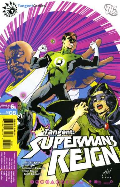 Tangent: Superman's Reign #6 comic books - cover scans photos Tangent: Superman's Reign #6 comic books - covers, picture gallery