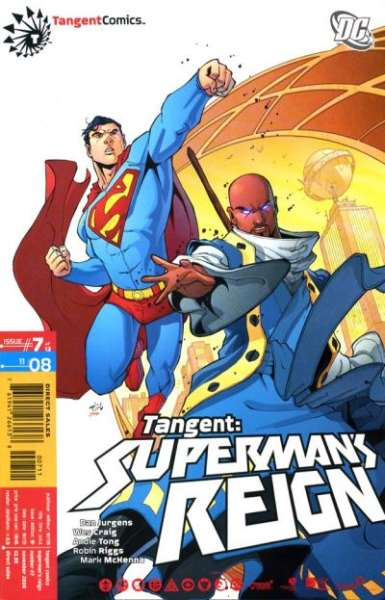 Tangent: Superman's Reign #7 Comic Books - Covers, Scans, Photos  in Tangent: Superman's Reign Comic Books - Covers, Scans, Gallery