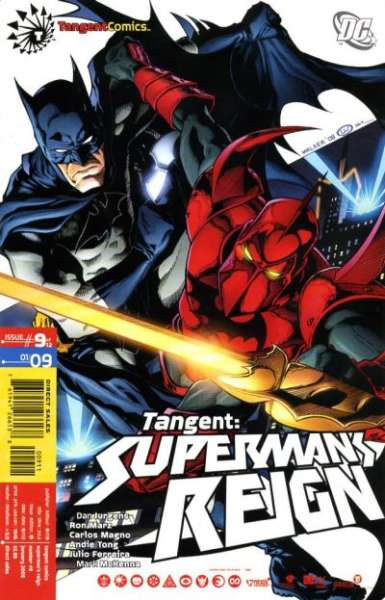 Tangent: Superman's Reign #9 Comic Books - Covers, Scans, Photos  in Tangent: Superman's Reign Comic Books - Covers, Scans, Gallery