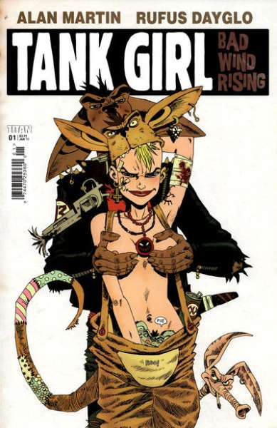 Tank Girl: Bad Wind Rising Comic Books. Tank Girl: Bad Wind Rising Comics.