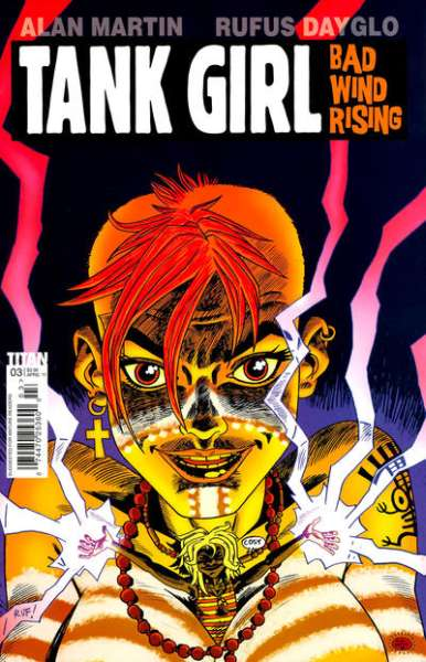 Tank Girl: Bad Wind Rising #3 Comic Books - Covers, Scans, Photos  in Tank Girl: Bad Wind Rising Comic Books - Covers, Scans, Gallery
