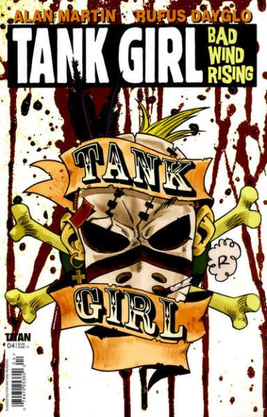 Tank Girl: Bad Wind Rising #4 Comic Books - Covers, Scans, Photos  in Tank Girl: Bad Wind Rising Comic Books - Covers, Scans, Gallery