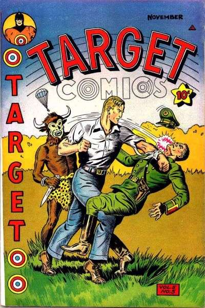 Target Comics: Volume 5 #5 comic books for sale