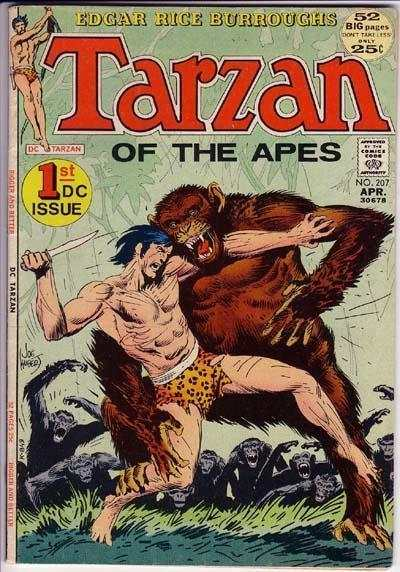 Tarzan #207 Comic Books - Covers, Scans, Photos  in Tarzan Comic Books - Covers, Scans, Gallery