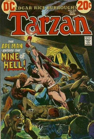 Tarzan #215 comic books - cover scans photos Tarzan #215 comic books - covers, picture gallery