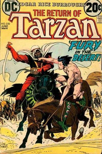 Tarzan #220 comic books - cover scans photos Tarzan #220 comic books - covers, picture gallery