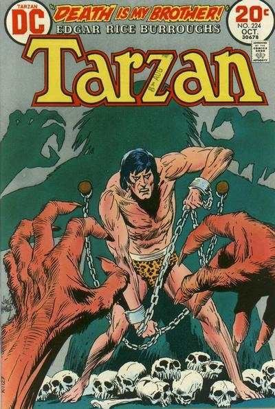 Tarzan #224 comic books - cover scans photos Tarzan #224 comic books - covers, picture gallery