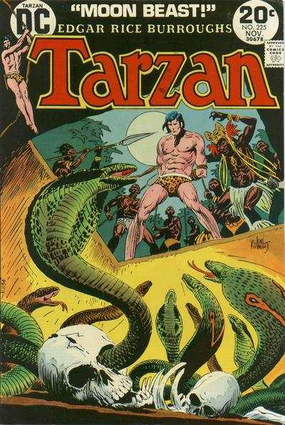 Tarzan #225 comic books - cover scans photos Tarzan #225 comic books - covers, picture gallery