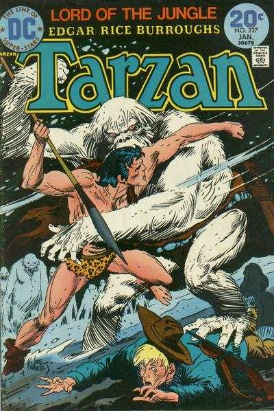 Tarzan #227 comic books - cover scans photos Tarzan #227 comic books - covers, picture gallery