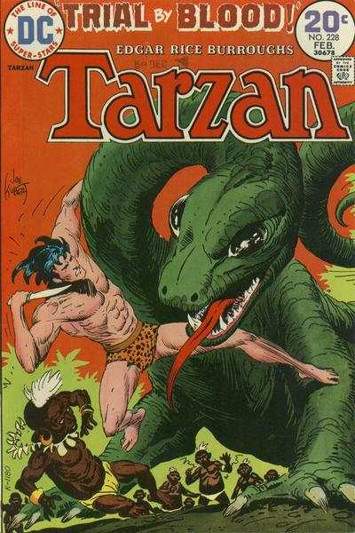 Tarzan #228 comic books - cover scans photos Tarzan #228 comic books - covers, picture gallery