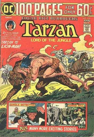 Tarzan #231 comic books - cover scans photos Tarzan #231 comic books - covers, picture gallery
