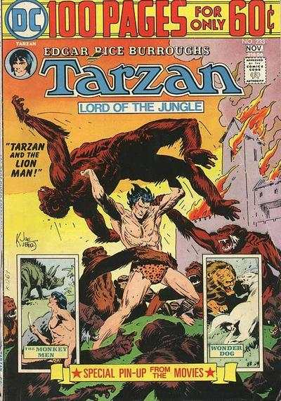 Tarzan #233 comic books - cover scans photos Tarzan #233 comic books - covers, picture gallery