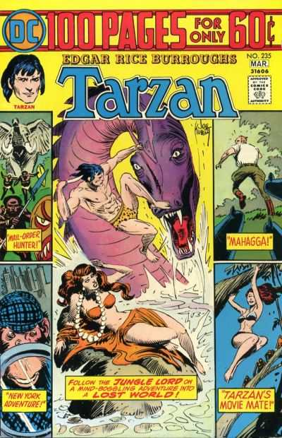 Tarzan #235 comic books - cover scans photos Tarzan #235 comic books - covers, picture gallery