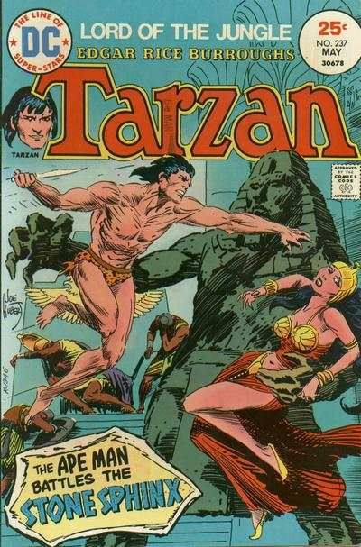 Tarzan #237 comic books - cover scans photos Tarzan #237 comic books - covers, picture gallery
