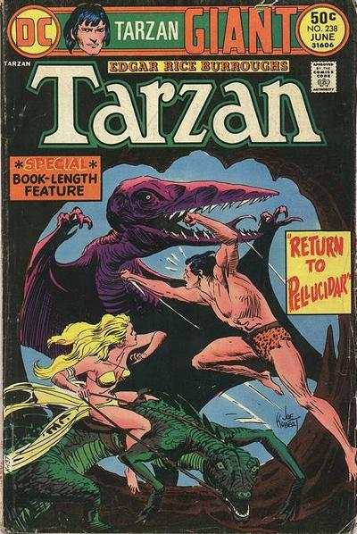 Tarzan #238 comic books - cover scans photos Tarzan #238 comic books - covers, picture gallery