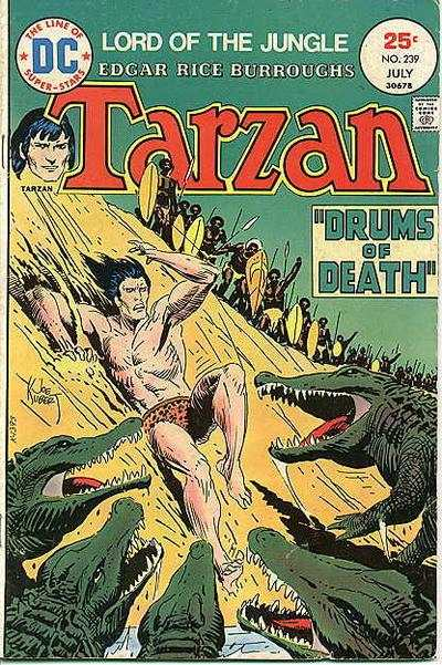 Tarzan #239 comic books - cover scans photos Tarzan #239 comic books - covers, picture gallery