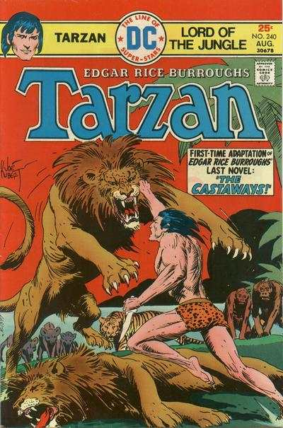 Tarzan #240 comic books - cover scans photos Tarzan #240 comic books - covers, picture gallery