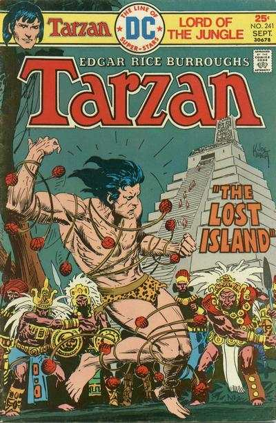 Tarzan #241 comic books - cover scans photos Tarzan #241 comic books - covers, picture gallery