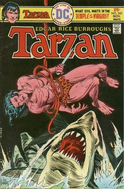 Tarzan #243 comic books - cover scans photos Tarzan #243 comic books - covers, picture gallery