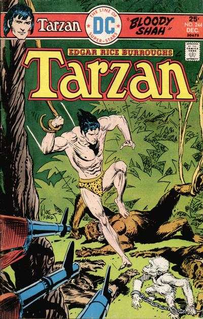 Tarzan #244 comic books - cover scans photos Tarzan #244 comic books - covers, picture gallery