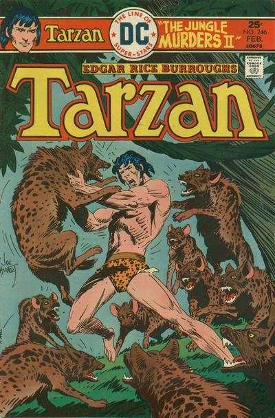 Tarzan #246 comic books - cover scans photos Tarzan #246 comic books - covers, picture gallery