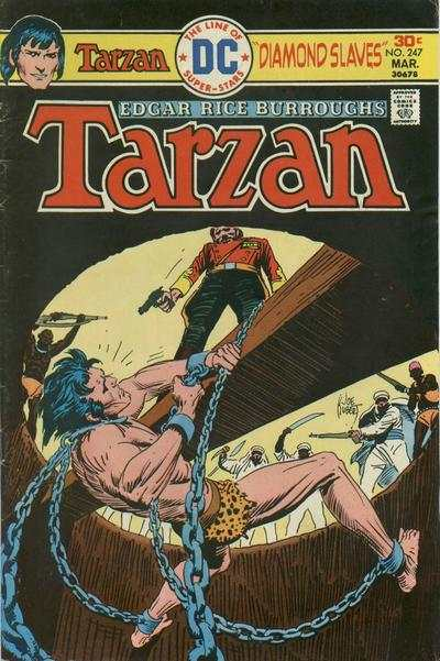 Tarzan #247 comic books - cover scans photos Tarzan #247 comic books - covers, picture gallery
