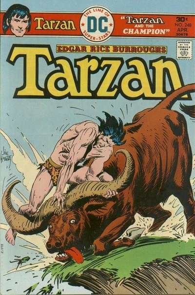 Tarzan #248 comic books - cover scans photos Tarzan #248 comic books - covers, picture gallery