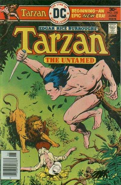 Tarzan #250 comic books - cover scans photos Tarzan #250 comic books - covers, picture gallery