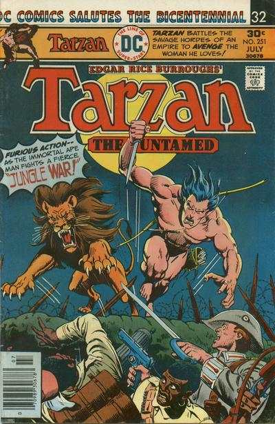 Tarzan #251 comic books - cover scans photos Tarzan #251 comic books - covers, picture gallery