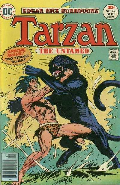 Tarzan #253 comic books - cover scans photos Tarzan #253 comic books - covers, picture gallery