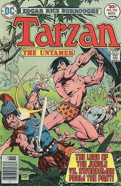 Tarzan #255 comic books - cover scans photos Tarzan #255 comic books - covers, picture gallery